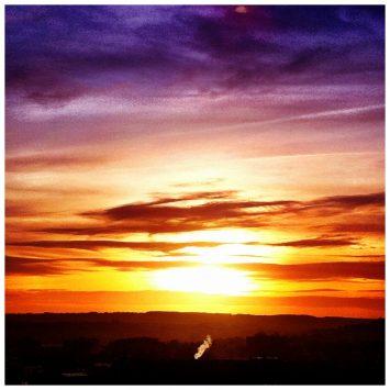 Smokin' sunset