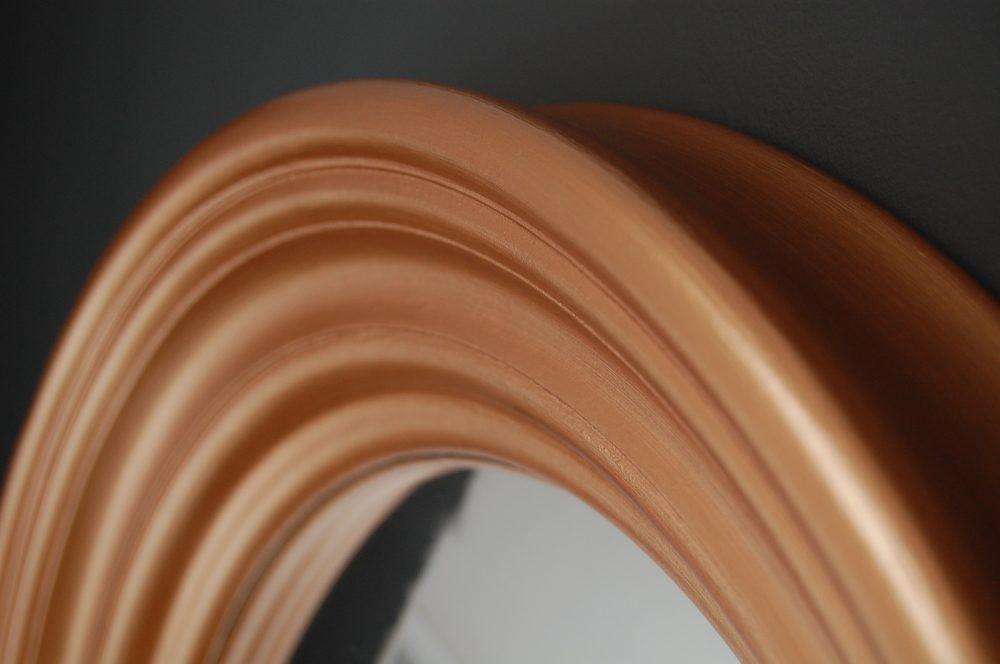 Medium Roma convex mirror in copper image