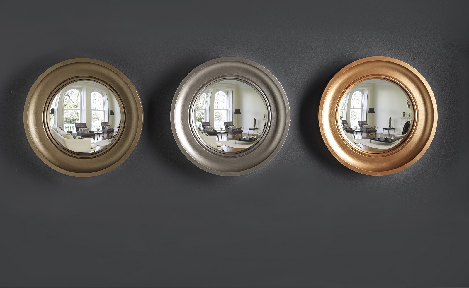 Matching Mirrors Omelo Decorative Convex