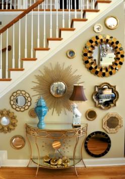 decorative convex mirrors