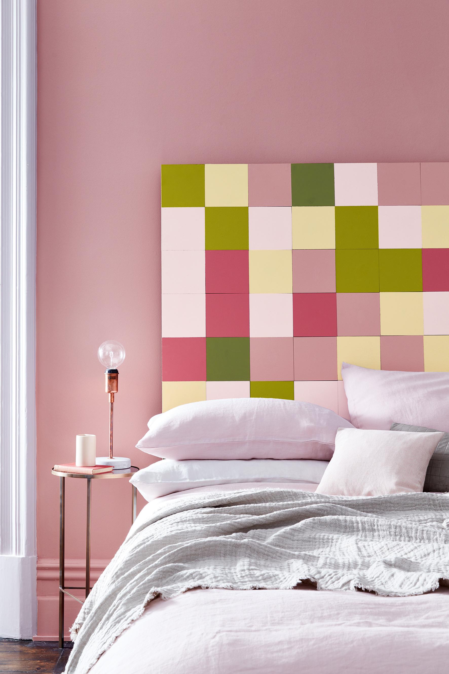 Pink interior colour trend 2017