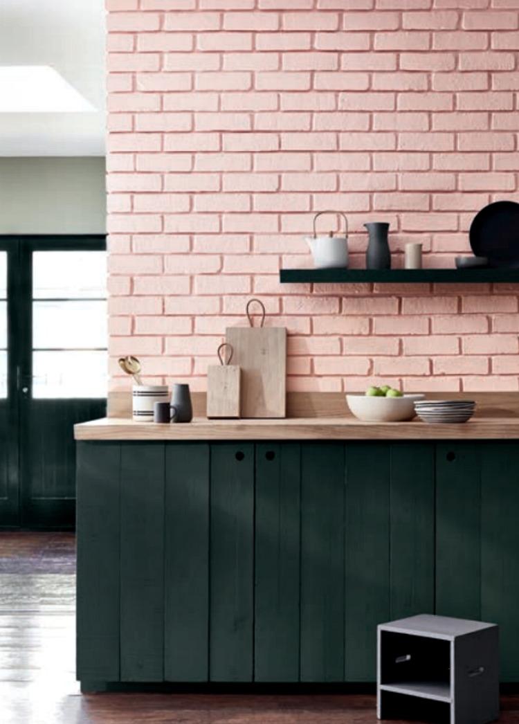 Pink colour trend interiors 2017