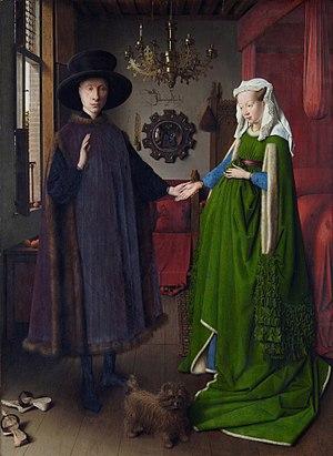 Van Eyck Arnolfini Portrait image