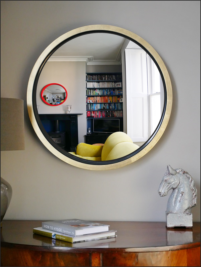 Omelo S Stunning Extra Large Round Mirror New Omelo Decorative Convex Mirrors