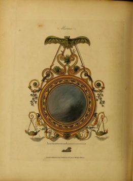 convex decorative mirrors image