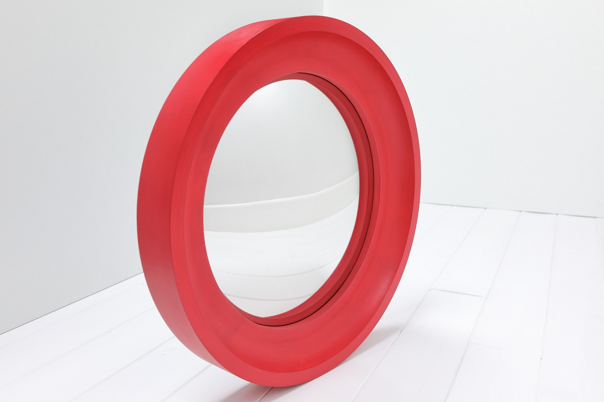 Nursery Convex Mirror in Cape Red image