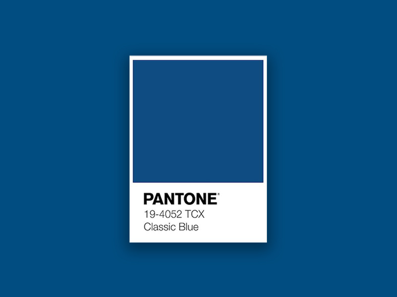pantone colour of the year 2020 classic blue image